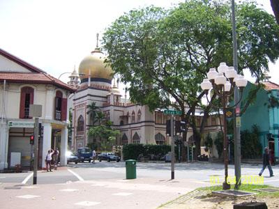 Arab Street - Mesjid Sultan