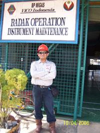 di Badak Field Maintenance