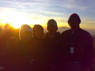 sunset di penanjakan-bromo