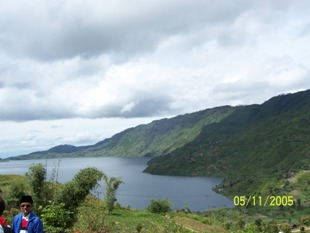 danau bawah - danau kembar