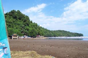 pantai air manis - padang