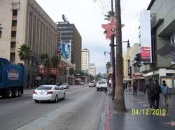 Hollywood-Walk of fame di pagi hari