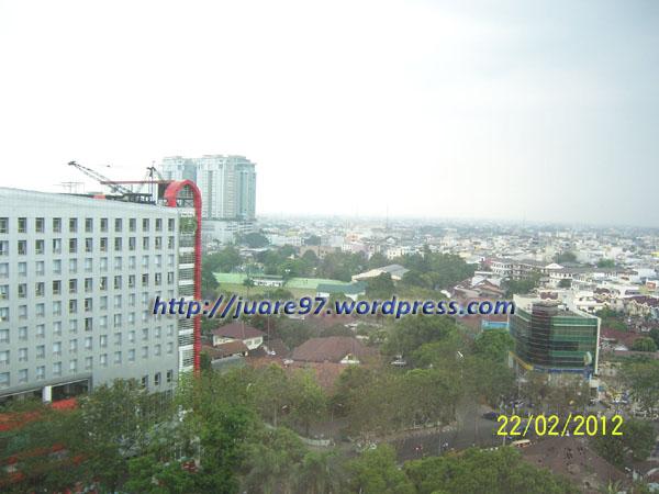 Kota Medan dari Hotel Aryaduta Lt.9