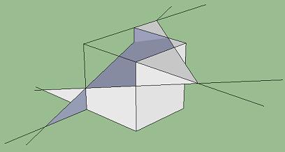 Dimensi Tiga - Irisan Bidang di Kubus
