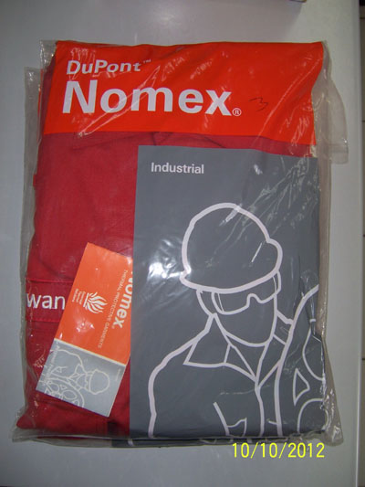 Coverall DuPont Nomex