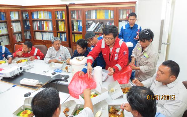 Makan-makan di MPE