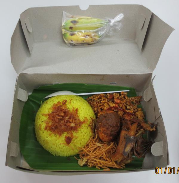 Nasi Kuning Warung Construction