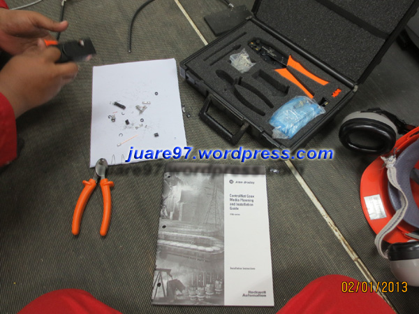 ControlNet coax toolkit, catalog number 1786-CTK