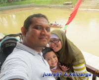 juare97 & keluarga