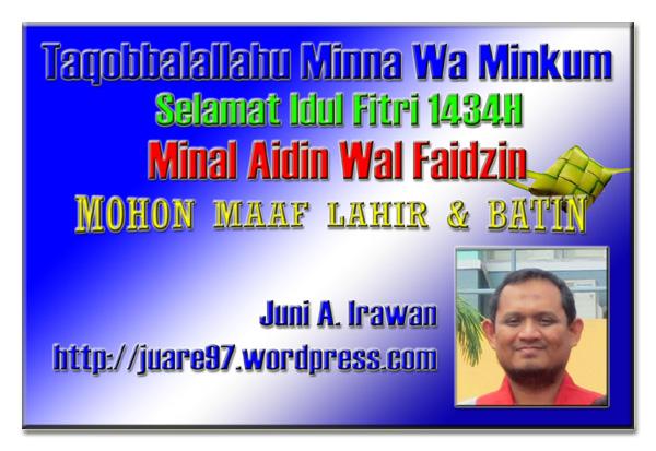 Selamat Idul Fitri 1434H