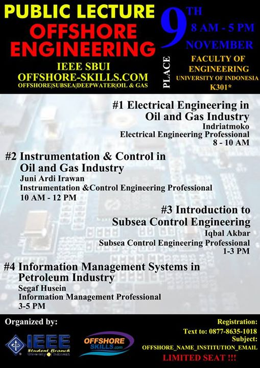 Public Lecture-IEEE-SBUI-OFFSHORE-SKILLS