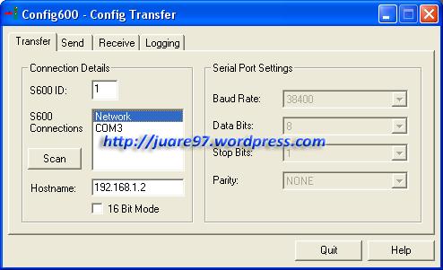 Config600 - Config Transfer