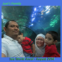 at Sea World Ancol, August 2014
