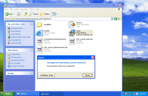 Install Intouch2014 di WinXP